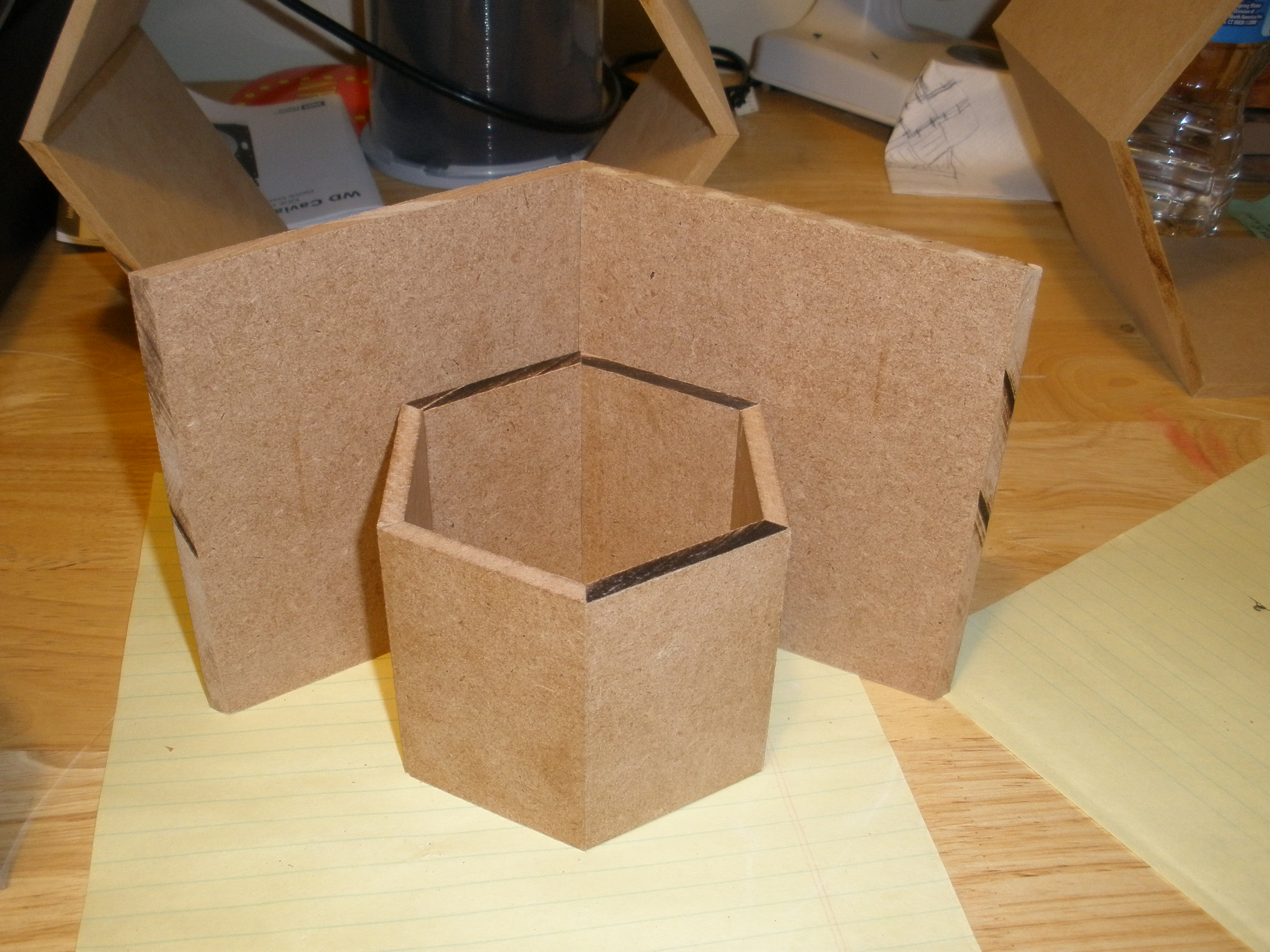 Picture of Start Gluing the Individual Sections Together.