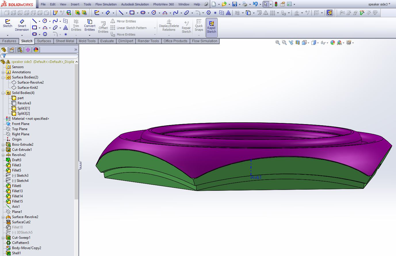 Picture of Designing the Mold