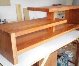 Dovetail Wood TV Console