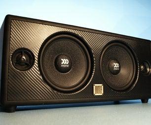 INSANELY Loud 150W Bluetooth Speaker Boombox