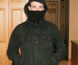 Jacket with built in face mask