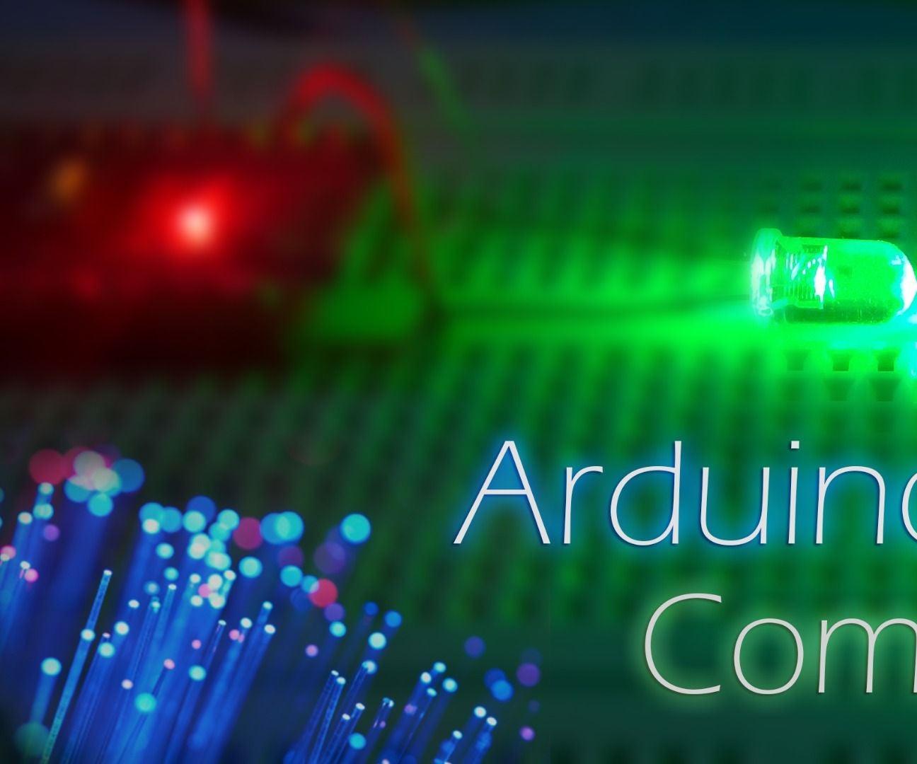 Arduino Communication 5 Steps Infrared Proximity Sensor Circuit