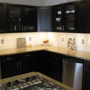 High Power LED Under Cabinet Lighting DIY - Great looking and BRIGHT @ only 23w!