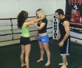 Self Defense Against the Two-Handed Front Choke!