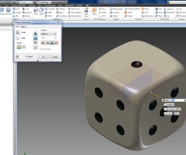 3D Printed Dice.  Standard and Load.   I Made Them at TechShop.