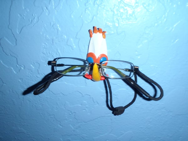 Sugru Eyeglass Holder or Anything Hook
