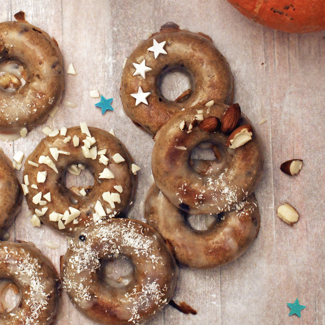 Picture of Baked Pumpkin Donuts