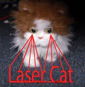 Robotic Laser Cats!