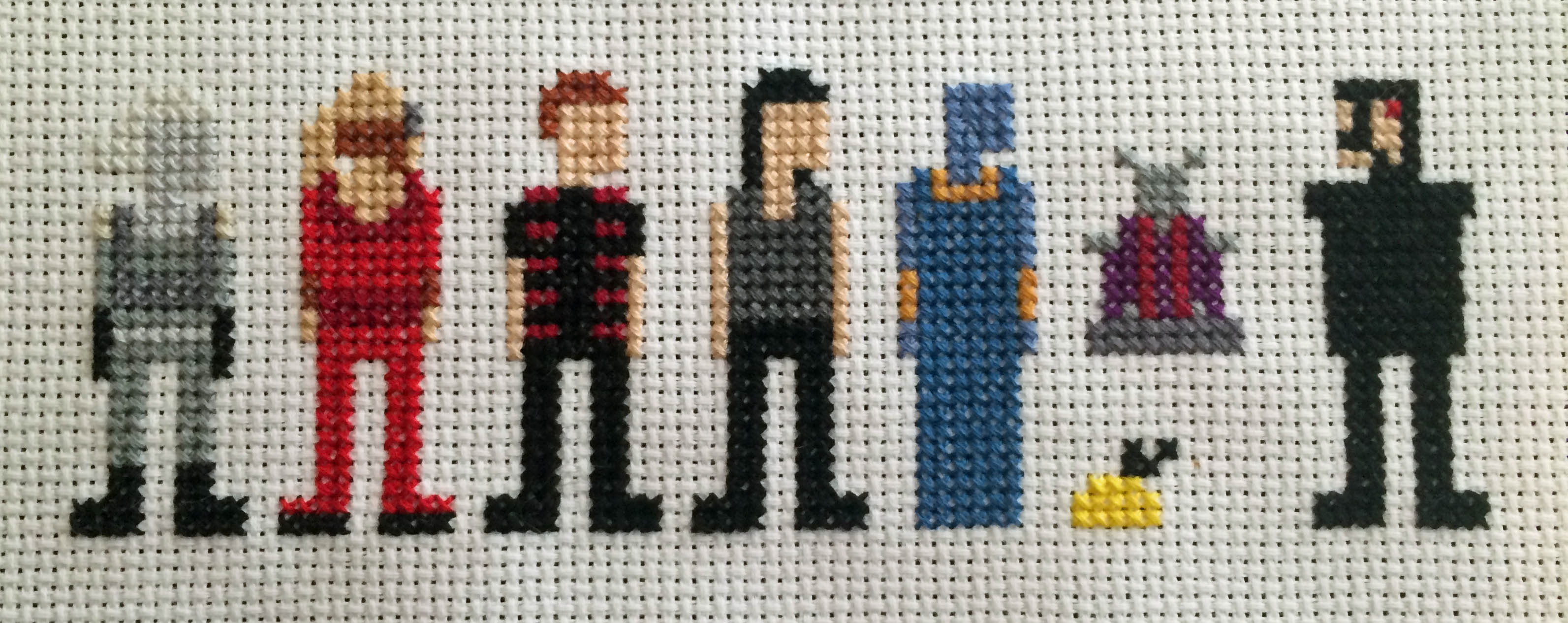 Picture of Farscape Cross Stitch: Season Two Characters