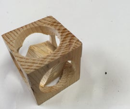 Trapped cube
