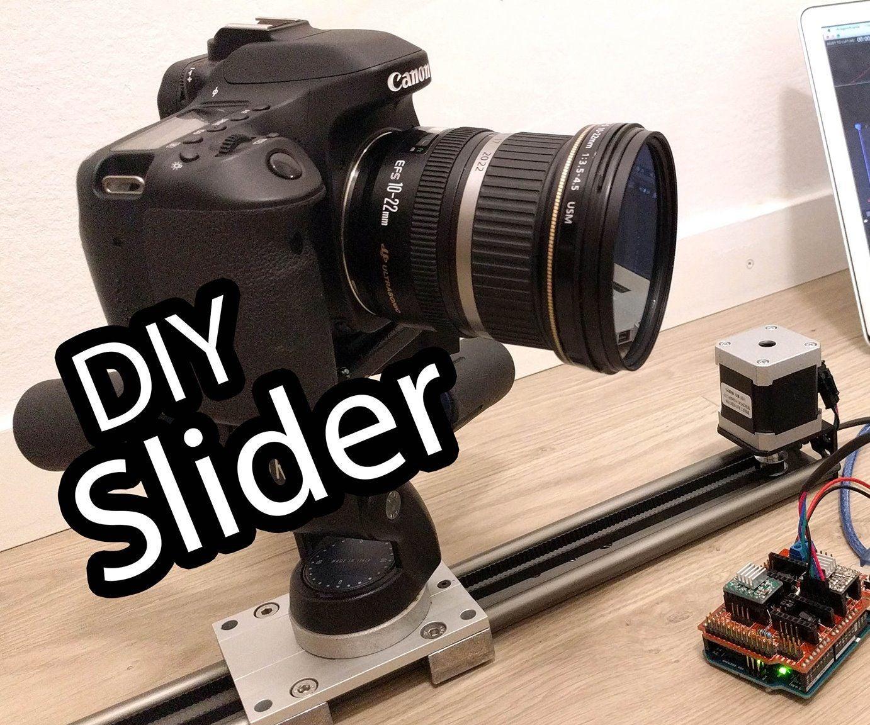 Arduino Camera Slider for Stop Motion Animation