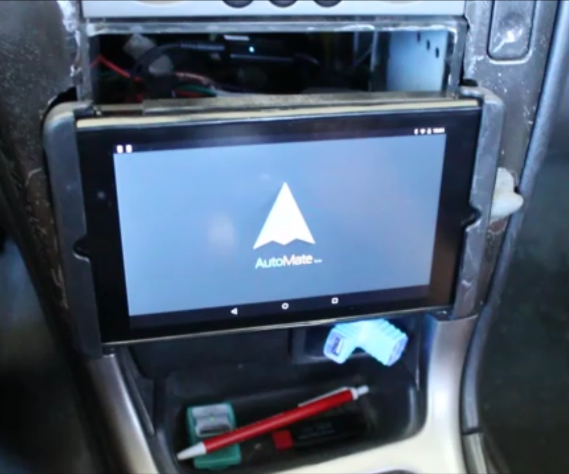 Turn Your Android Tablet Into A Car Head Unit 8 Steps With Pictures Stand Art Jeep Radio Wiring Diagram Only