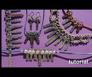 WIKarts: Create Necklaces With Vintage/Antique Keys