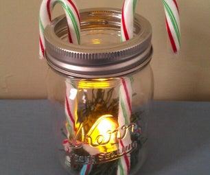 Last-Minute Christmas Jar Craft