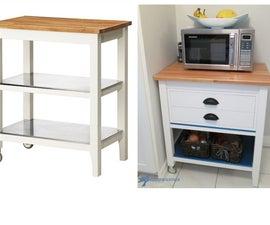 Ikea Stenstorp Kitchen Cart Hack
