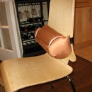 Make Your Own Lumbar Support Pillow - No Sew!