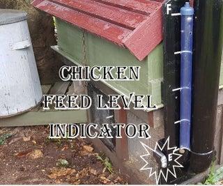 Chicken Feed Level Indicator
