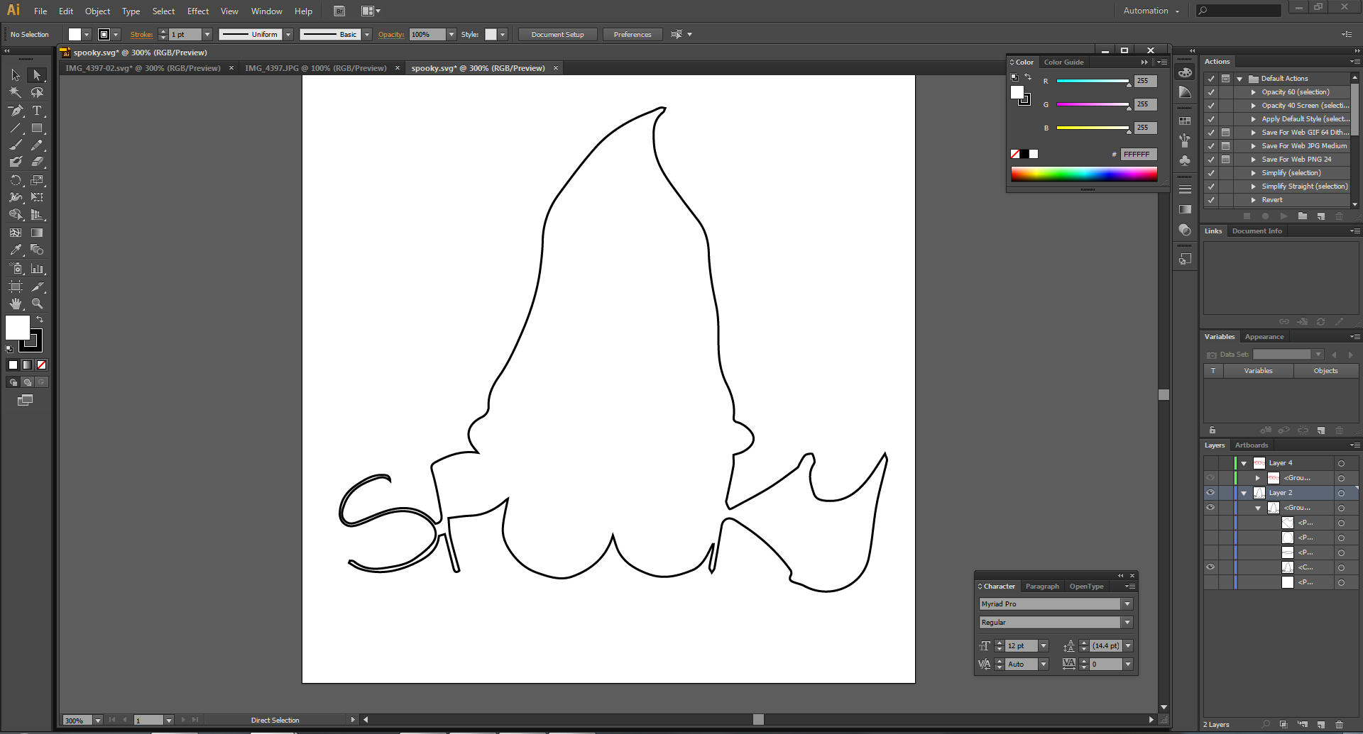 Picture of Import Sketch Into Illustrator