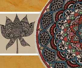 Episode 1: How to Draw a Mandala   Beginners Guide