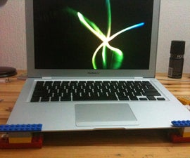 Quick Lego Laptop Stand