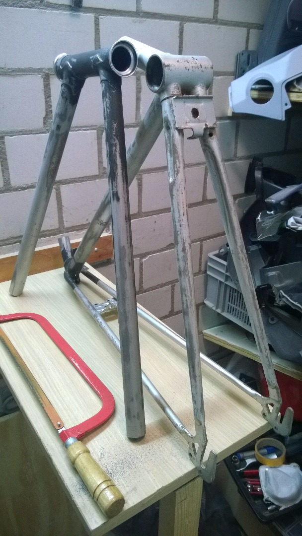 Picture of Preparing and Cutting the Frame