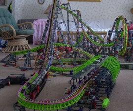 knex roller coaster Power Glide