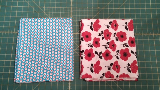 Choose Your Second Fabric, Put Them Together, and Sew.