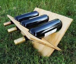 Flat Pack Wine Rack