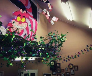 Huge Musical LED Cheshire Cat