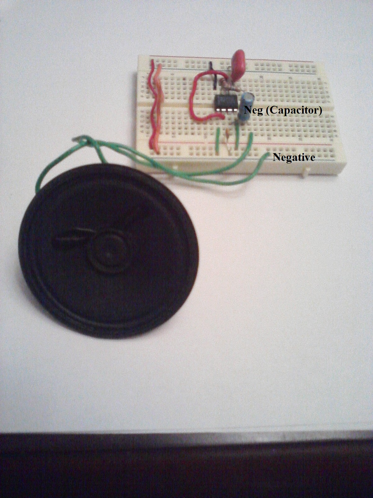 Picture of Module of IC555 Timer