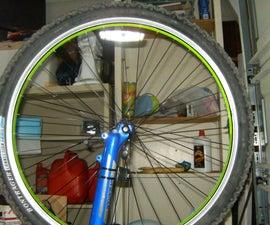 Light up bike tires