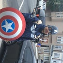 Captain America Stealth Suit