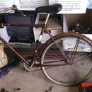 Restoring a bike at TechShop.