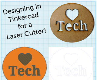 Designing in Tinkercad for a Laser Cutter
