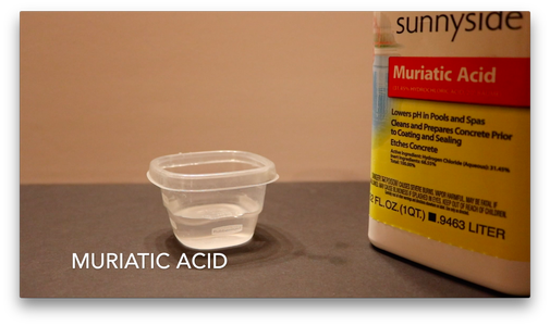 Step 2: Mix Water and Acid