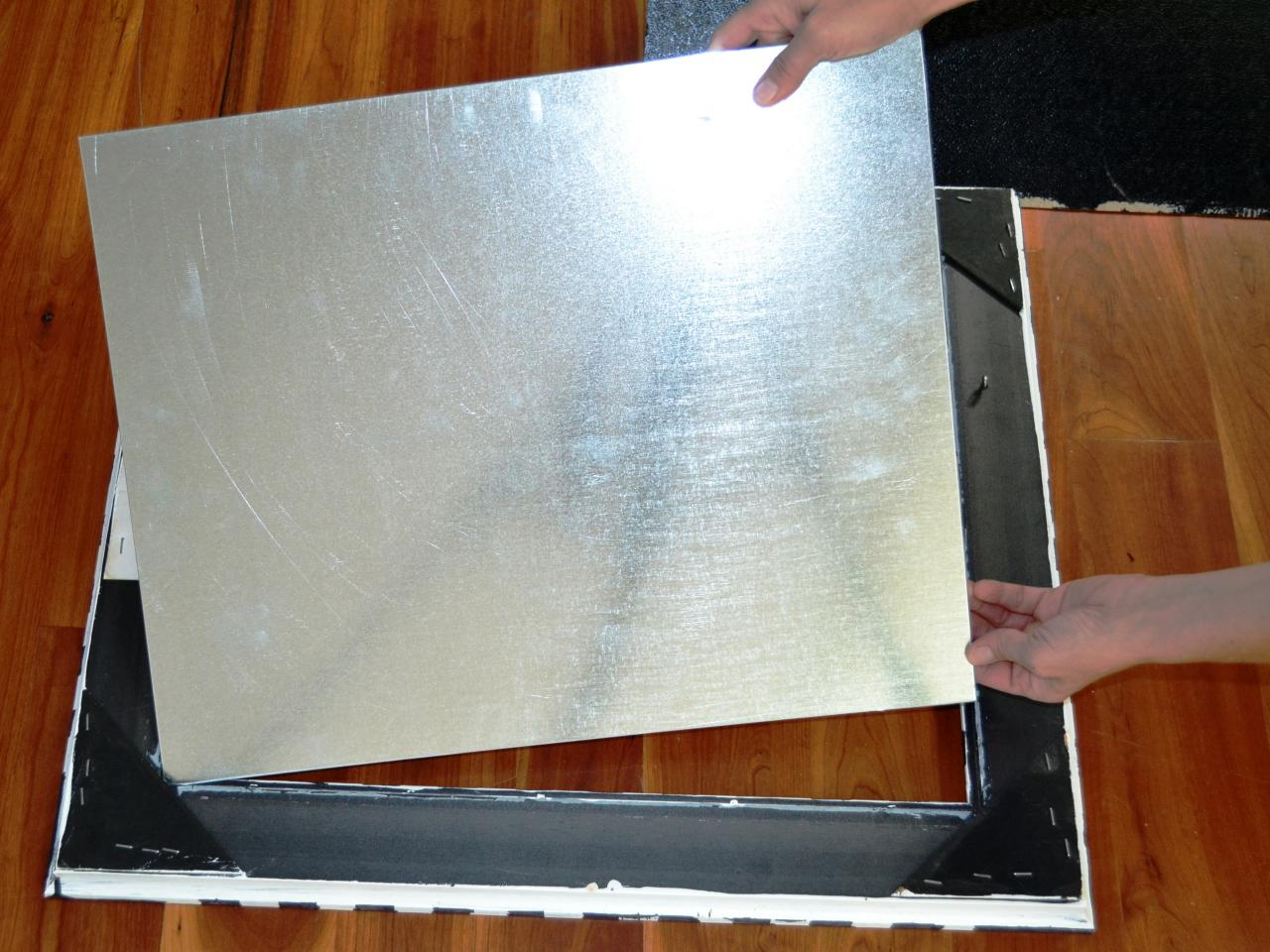 Picture of  Attach the Metal Sheet