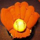 Boys of Summer Baseball Mitt Cake