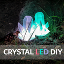 Crystal LED (Neopixel) DIY