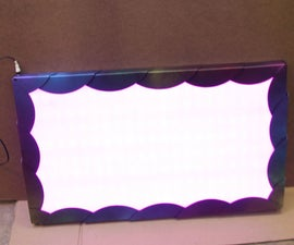 TV Backlight RGB LED Panel Conversion
