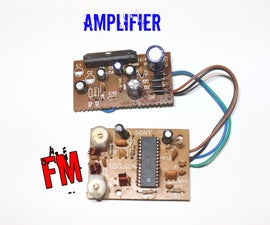 How to Connect FM Receiver in an Amplifier Board