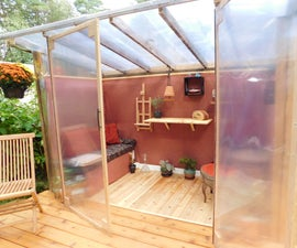 Solarium She Shed & Dancing Deck