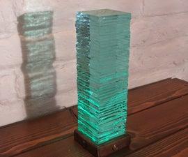 Stacked Glass LED Light
