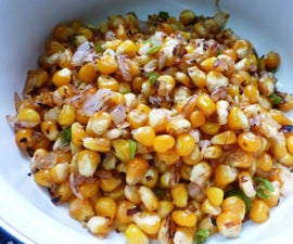 Simple Spicy Corn Snack