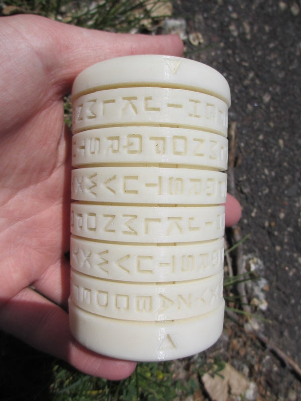 3D Printed Cryptex