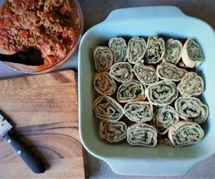 Stuffed Noodles (Fideos Rellenos)