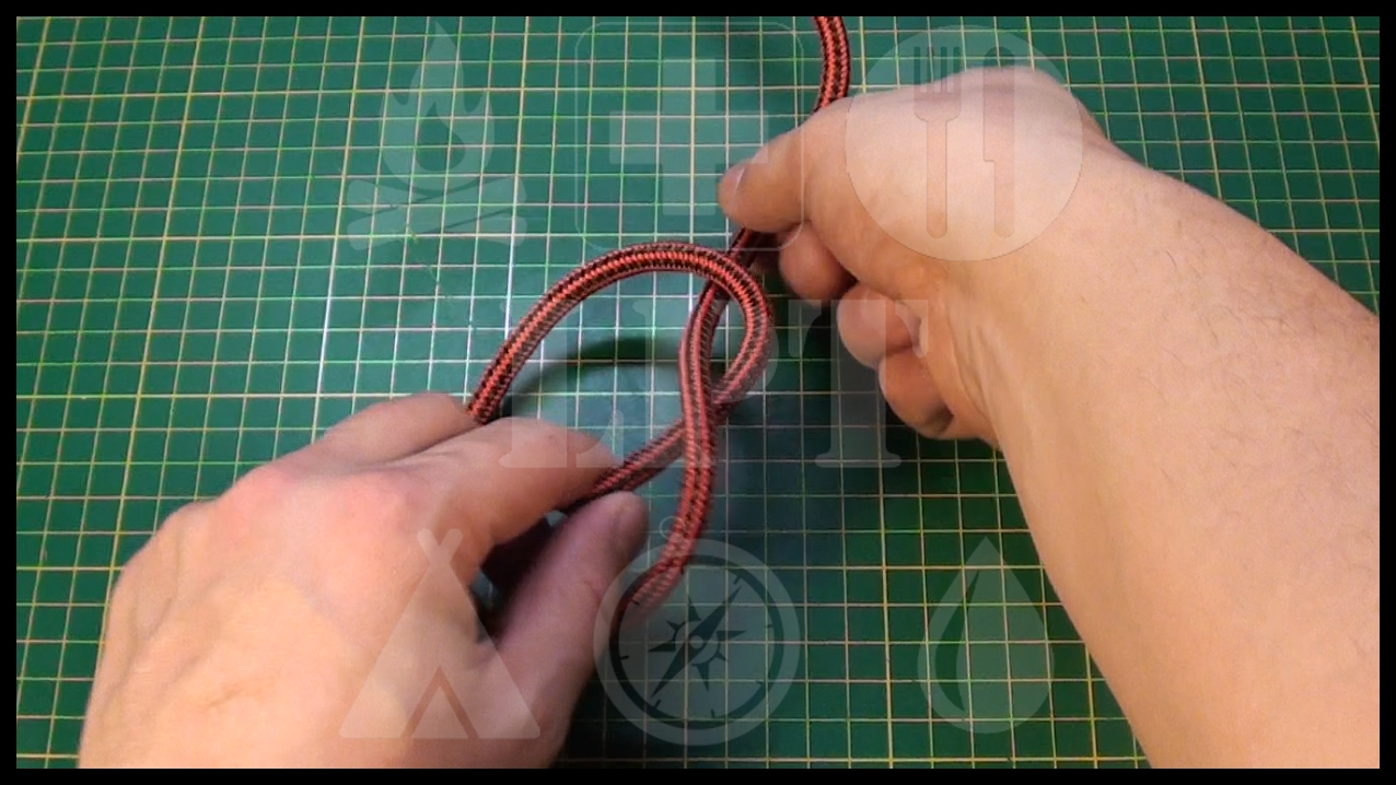Picture of Double Overhand Stopper Knot