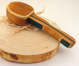 Wooden Toy Baby Rattle Out of Recycled Skateboards