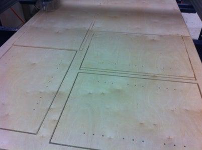 SHOPBOT Cut Cabinet Carcass....
