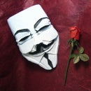 Guy Fawkes Mask in Origami