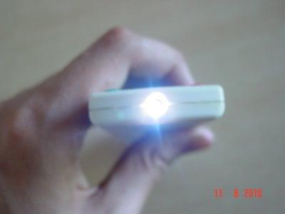 TV Remote Hack, Turn It Into a Mini Strobe Light